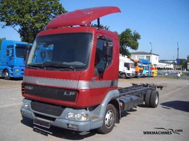2007 DAF LF 45 45.180 Truck over 7.5t Chassis photo