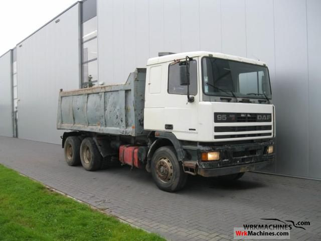 1996 DAF 95 95.400 Truck over 7.5t Tipper photo