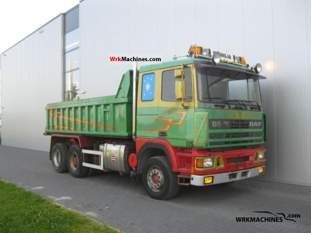 1990 DAF 95 95.400 Truck over 7.5t Mining truck photo