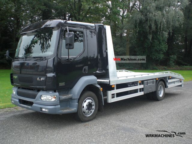 2002 DAF LF 55 55.180 Truck over 7.5t Car carrier photo