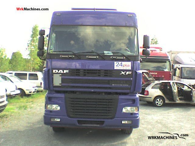 2005 DAF XF 95 95.430 Truck over 7.5t Swap chassis photo