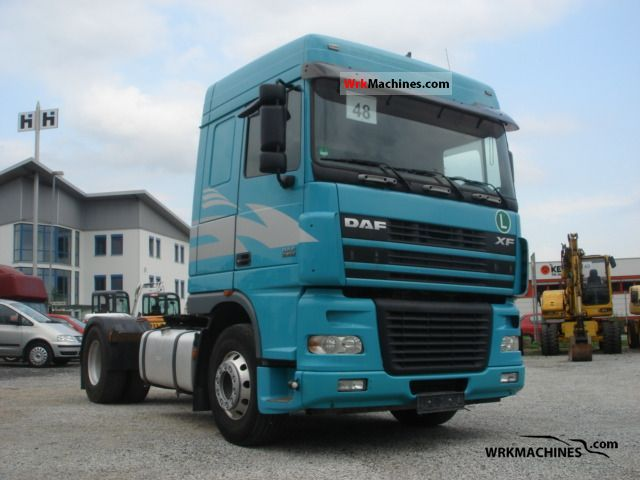 2006 DAF XF 95 95.430 Semi-trailer truck Standard tractor/trailer unit photo