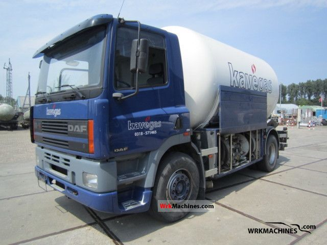 1996 DAF 85 85.360 Truck over 7.5t Tank truck photo
