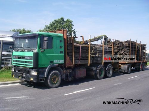 1995 DAF 95 95.430 Truck over 7.5t Timber carrier photo