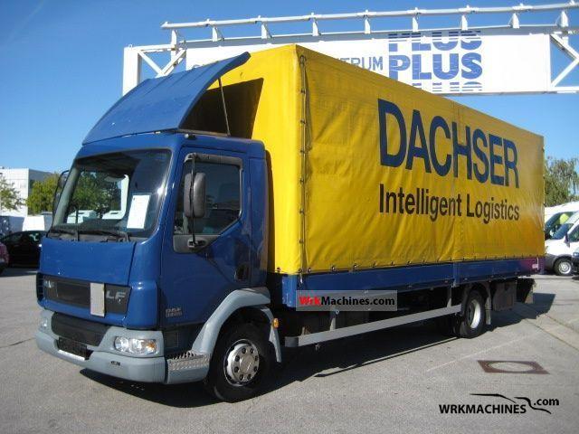 2006 DAF LF 45 45.220 Truck over 7.5t Stake body and tarpaulin photo