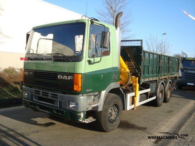 1995 DAF 85 85.360 Truck over 7.5t Tipper photo