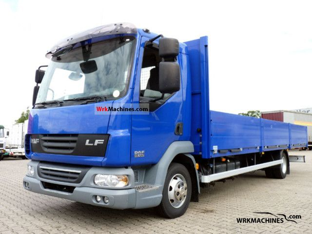 2007 DAF LF 45 45.180 Van or truck up to 7.5t Stake body photo