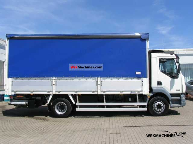 2006 DAF LF 55 55.250 Truck over 7.5t Stake body and tarpaulin photo