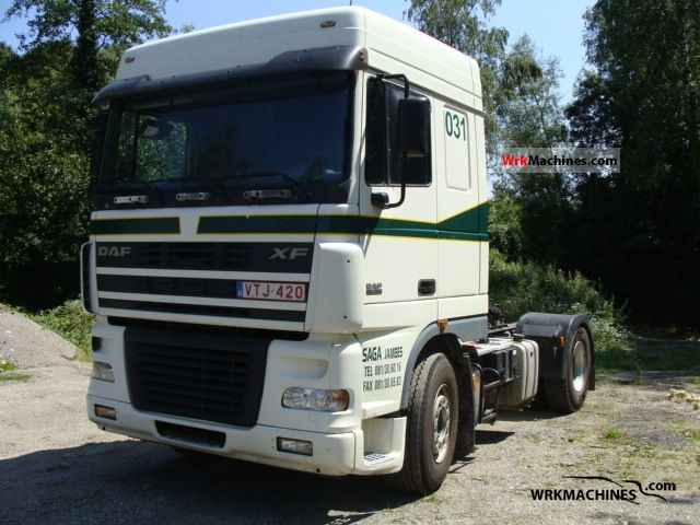 2006 DAF XF 95 95.380 Semi-trailer truck Standard tractor/trailer unit photo
