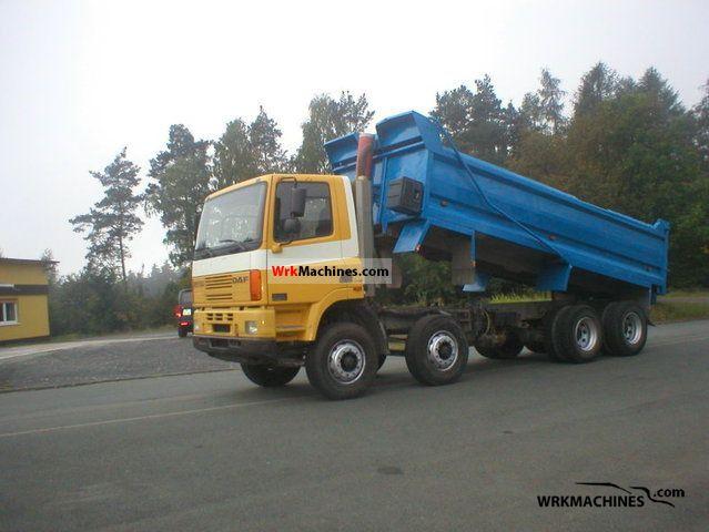 2002 DAF CF 85 85.340 Truck over 7.5t Tipper photo