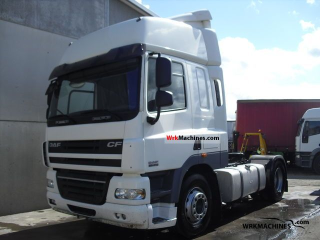2006 DAF CF 85 85.410 Semi-trailer truck Standard tractor/trailer unit photo