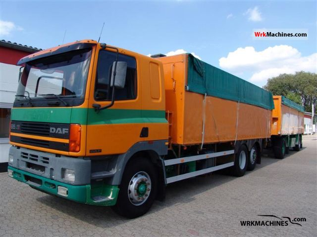 1998 DAF 85 85.400 Truck over 7.5t Grain Truck photo