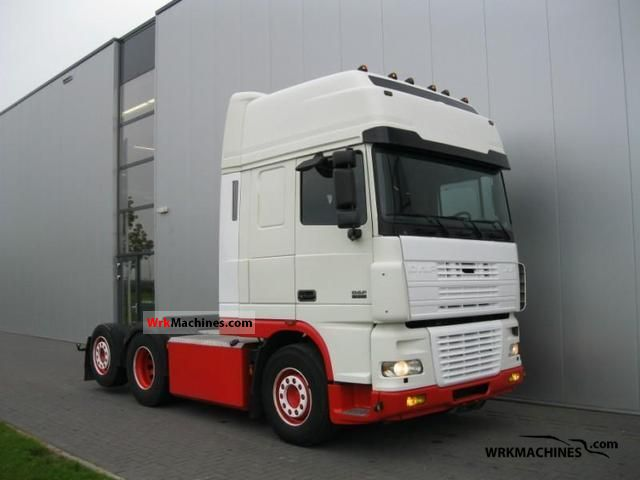 2003 DAF XF 95 95.530 Semi-trailer truck Standard tractor/trailer unit photo