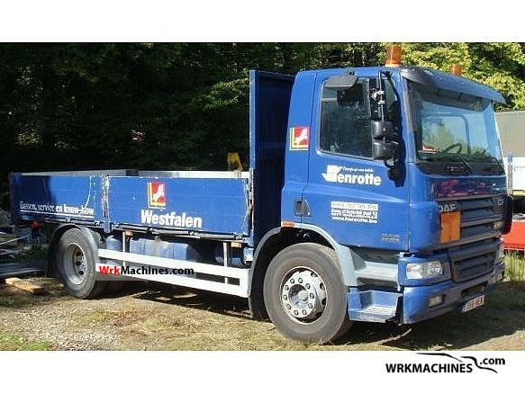 2004 DAF CF 75 75.250 Truck over 7.5t Stake body photo