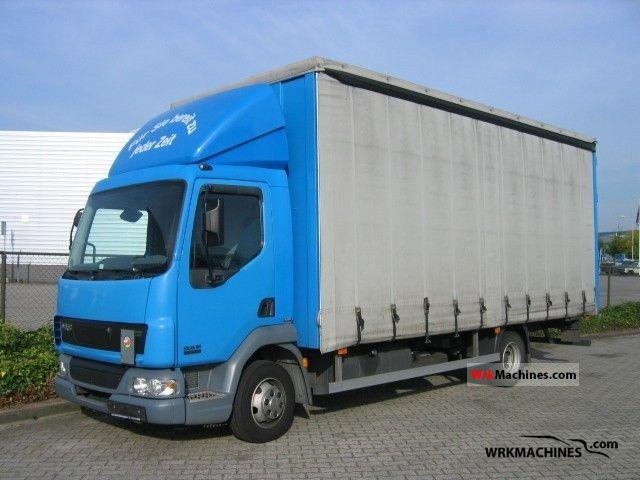 2006 DAF LF 45 45.150 Truck over 7.5t Stake body and tarpaulin photo