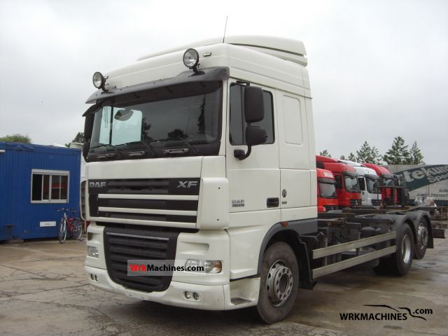 2007 DAF XF 105 105.410 Truck over 7.5t Swap chassis photo