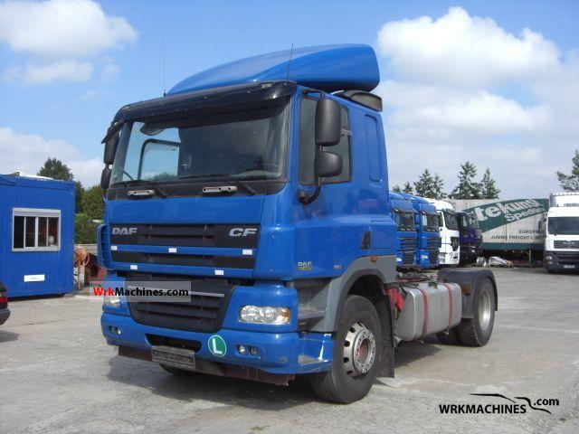 2006 DAF CF 85 85.460 Semi-trailer truck Standard tractor/trailer unit photo