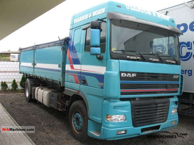 2005 DAF XF 95 95.430 Truck over 7.5t Three-sided Tipper photo
