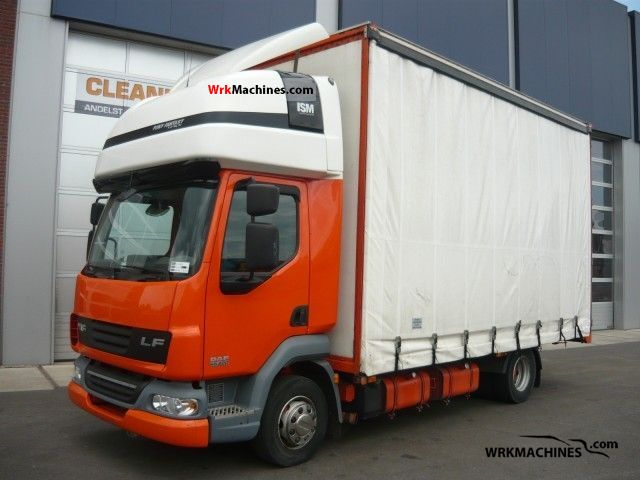 2007 DAF LF 45 45.220 Truck over 7.5t Stake body and tarpaulin photo