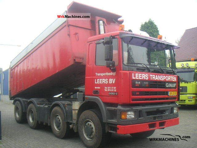 1997 DAF 95 95.430 Truck over 7.5t Tipper photo