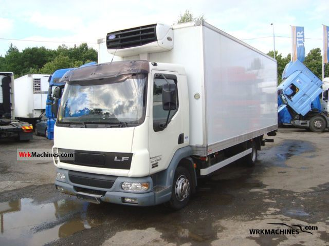 2005 DAF LF 45 45.180 Van or truck up to 7.5t Refrigerator body photo