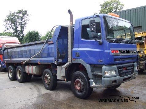 2004 DAF CF 85 85.340 Truck over 7.5t Tipper photo