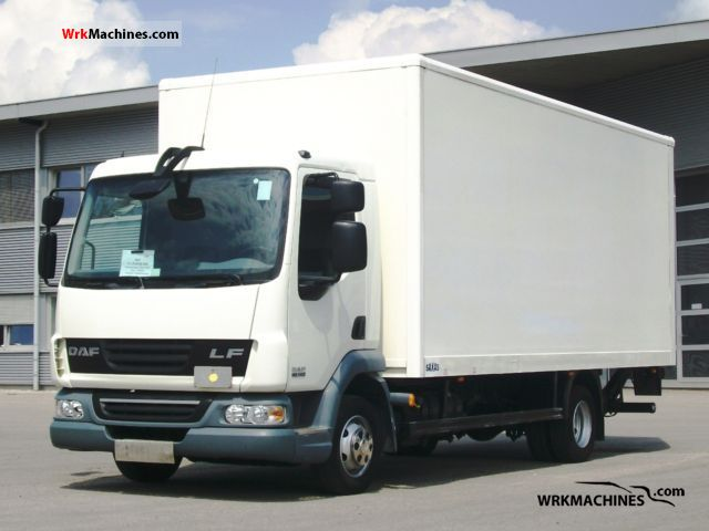 2008 DAF LF 45 45.140 Van or truck up to 7.5t Box photo