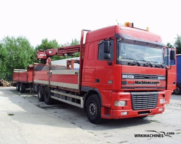 2001 DAF 95 XF 95 XF 430 Truck over 7.5t Stake body photo