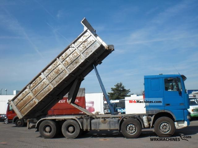 2001 DAF 95 XF 95 XF 430 Truck over 7.5t Tipper photo
