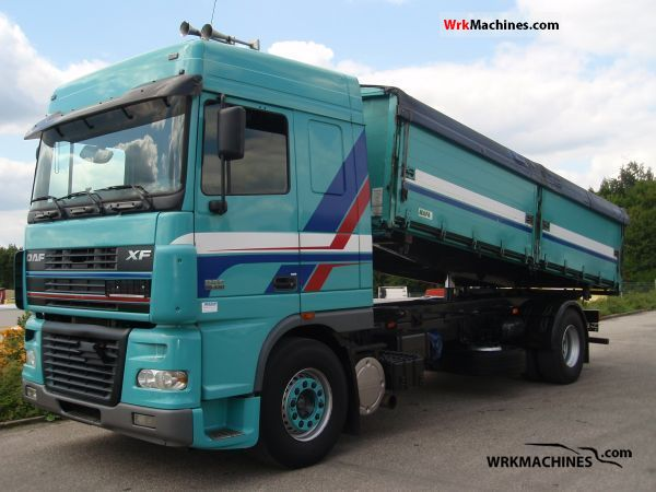 2005 DAF XF 95 95.430 Truck over 7.5t Tipper photo