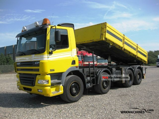 2004 DAF CF 85 85.430 Truck over 7.5t Tipper photo