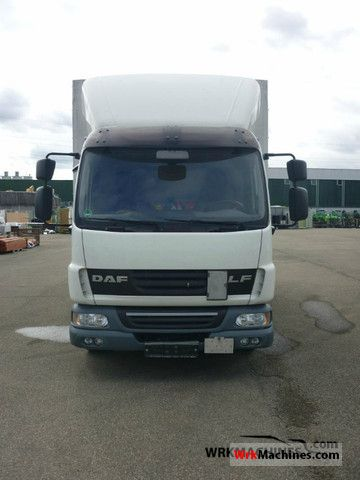 2008 DAF LF 45 45.220 Van or truck up to 7.5t Stake body and tarpaulin photo