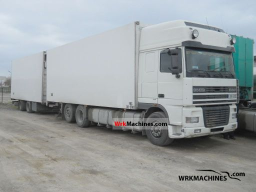 2003 DAF XF 95 95.480 Truck over 7.5t Refrigerator body photo