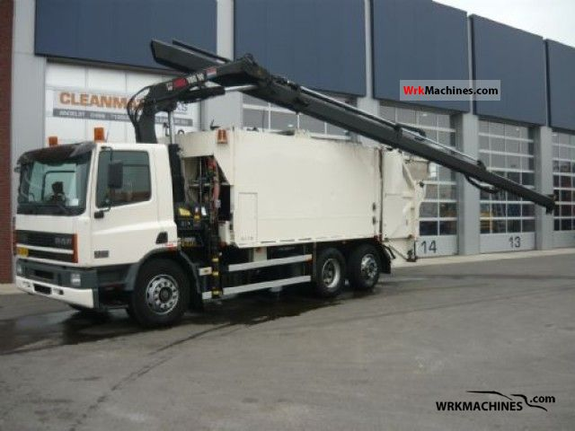 2002 DAF CF 85 FAS Truck over 7.5t Refuse truck photo
