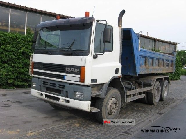 2002 DAF CF 85 85.380 Truck over 7.5t Tipper photo