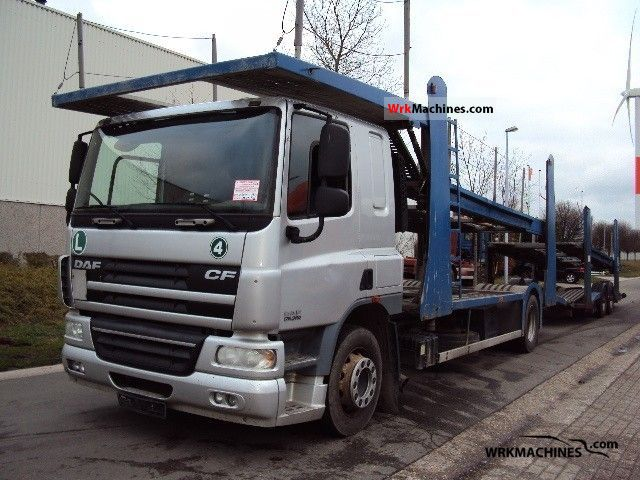 2006 DAF CF 75 75.360 Truck over 7.5t Car carrier photo