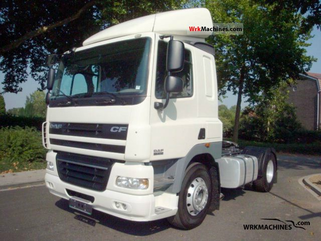 2007 DAF CF 85 85.410 Semi-trailer truck Standard tractor/trailer unit photo