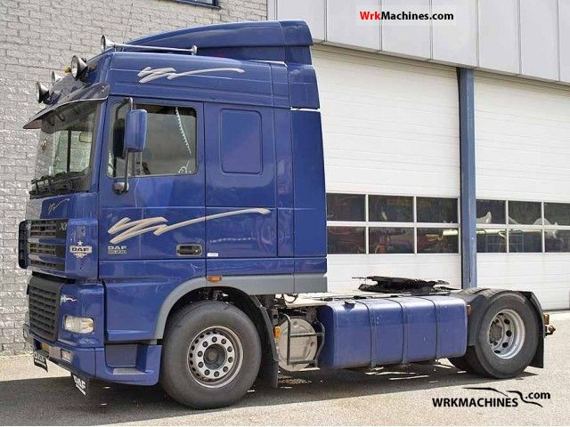 2002 DAF 95 XF 95 XF 430 Semi-trailer truck Other semi-trailer trucks photo