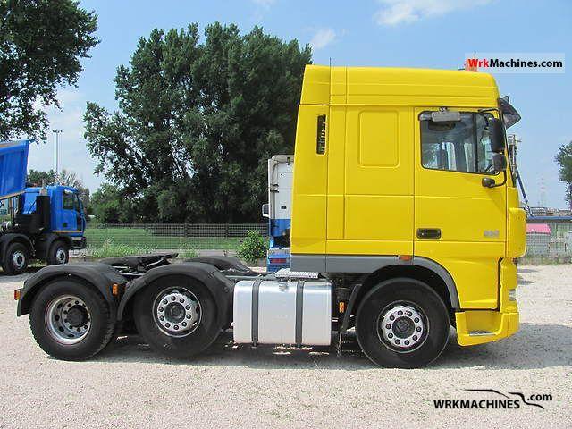 2006 DAF XF 95 95.430 Semi-trailer truck Heavy load photo