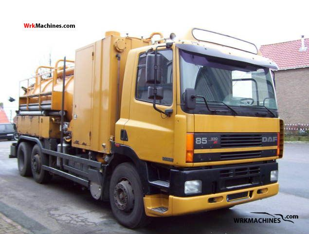1996 DAF 85 FAG 85.330 Truck over 7.5t Tank truck photo