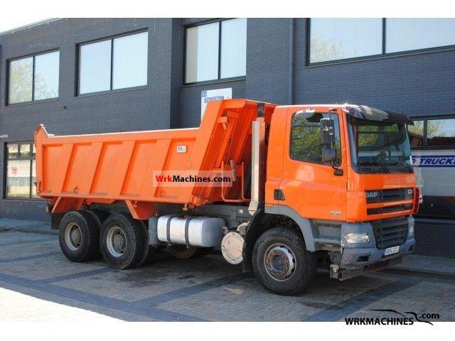 2004 DAF CF 85 85.380 Truck over 7.5t Tipper photo
