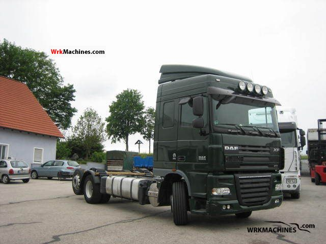 2007 DAF XF 105 105.460 Truck over 7.5t Chassis photo