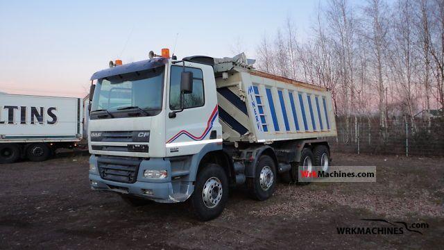 2002 DAF CF 85 85.480 Truck over 7.5t Tipper photo