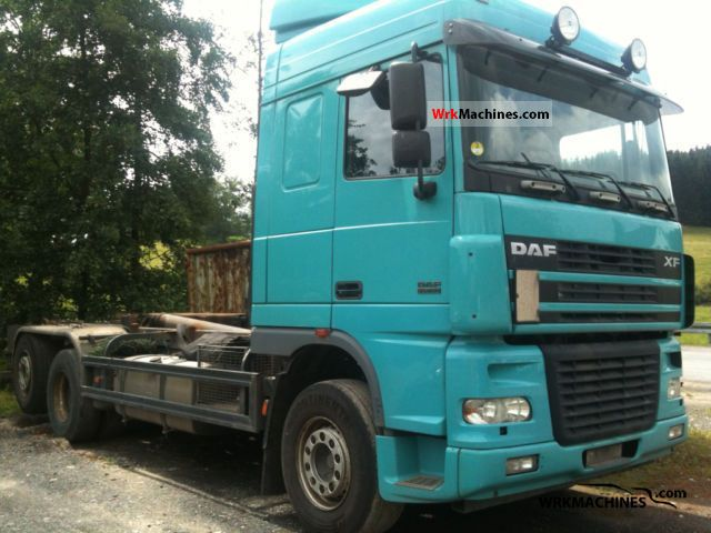 2005 DAF XF 95 95.480 Truck over 7.5t Roll-off tipper photo