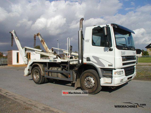 2006 DAF CF 75 75.360 Truck over 7.5t Dumper truck photo