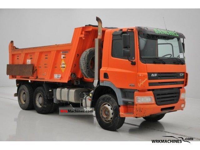 2003 DAF CF 85 85.380 Truck over 7.5t Tipper photo