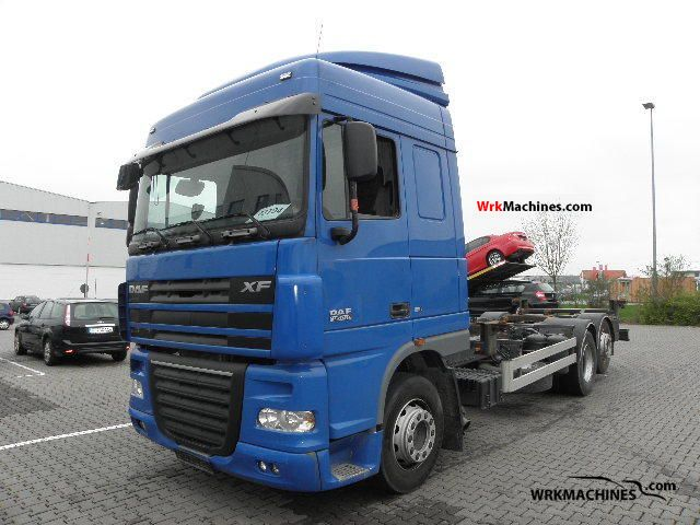 2008 DAF XF 105 105.410 Truck over 7.5t Swap chassis photo