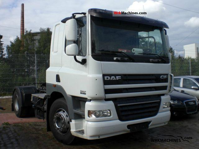 2008 DAF CF 85 85.460 Semi-trailer truck Standard tractor/trailer unit photo