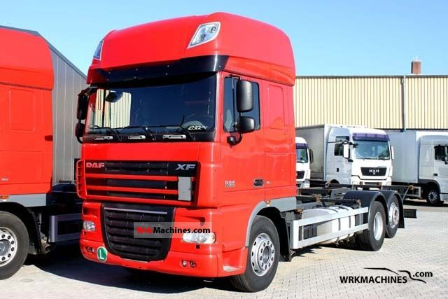 2008 DAF XF 105 105.460 Truck over 7.5t Chassis photo