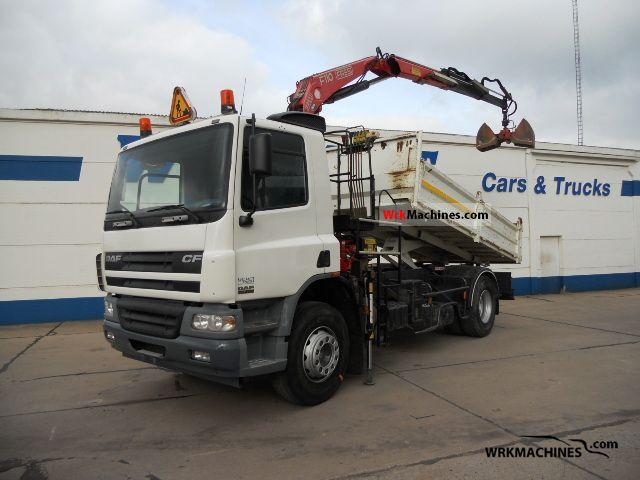 2005 DAF CF 75 75.250 Truck over 7.5t Tipper photo
